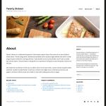 2016 WordPress Theme page custom header