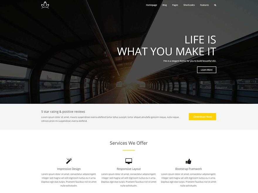 Alchem WordPress Theme by Magee WP