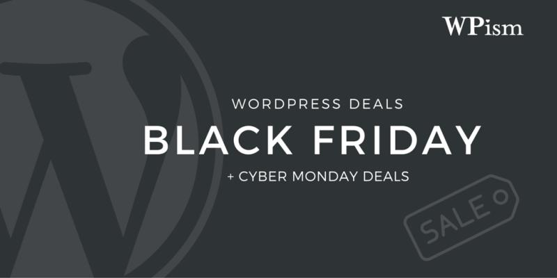 Black Friday WordPress Deals 2015 + Cyber Monday Sale
