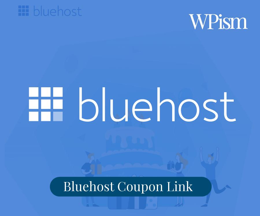 Bluehost Coupon Sidebar Link