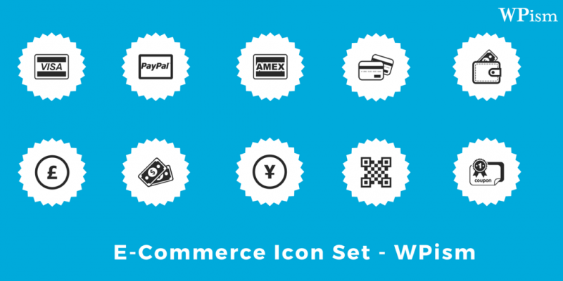 Complete Ecommerce Icon Set – Exclusive Freebie