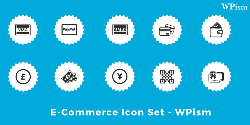 Ecommerce Icon Set Free Download