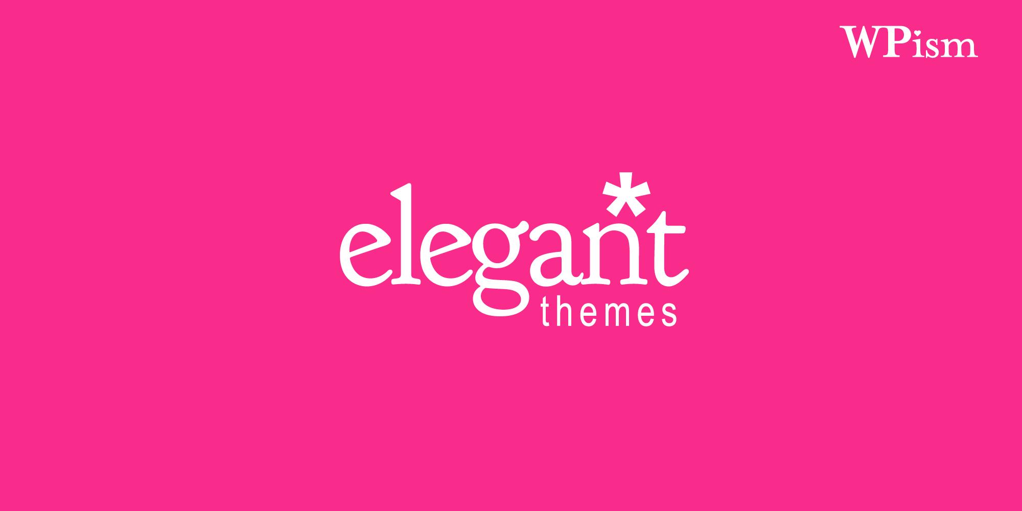 Elegant Themes Coupon WordPress
