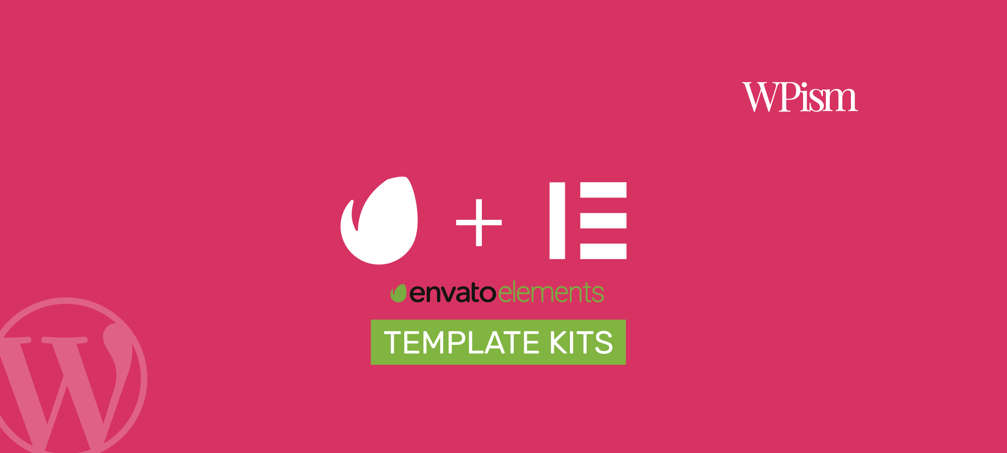 Free Elementor Templates with Envato Elements Plugin