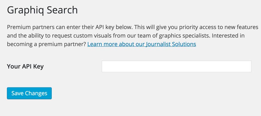 Graphic Search API Key