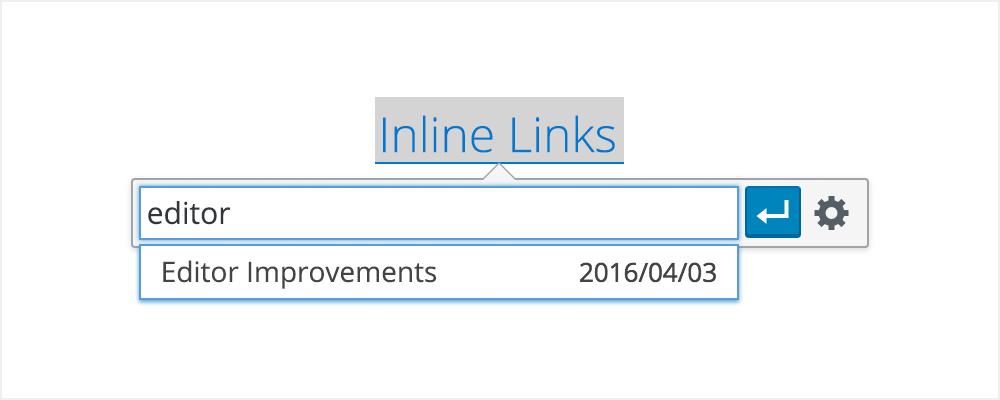 Inline Links in WordPress 4.5