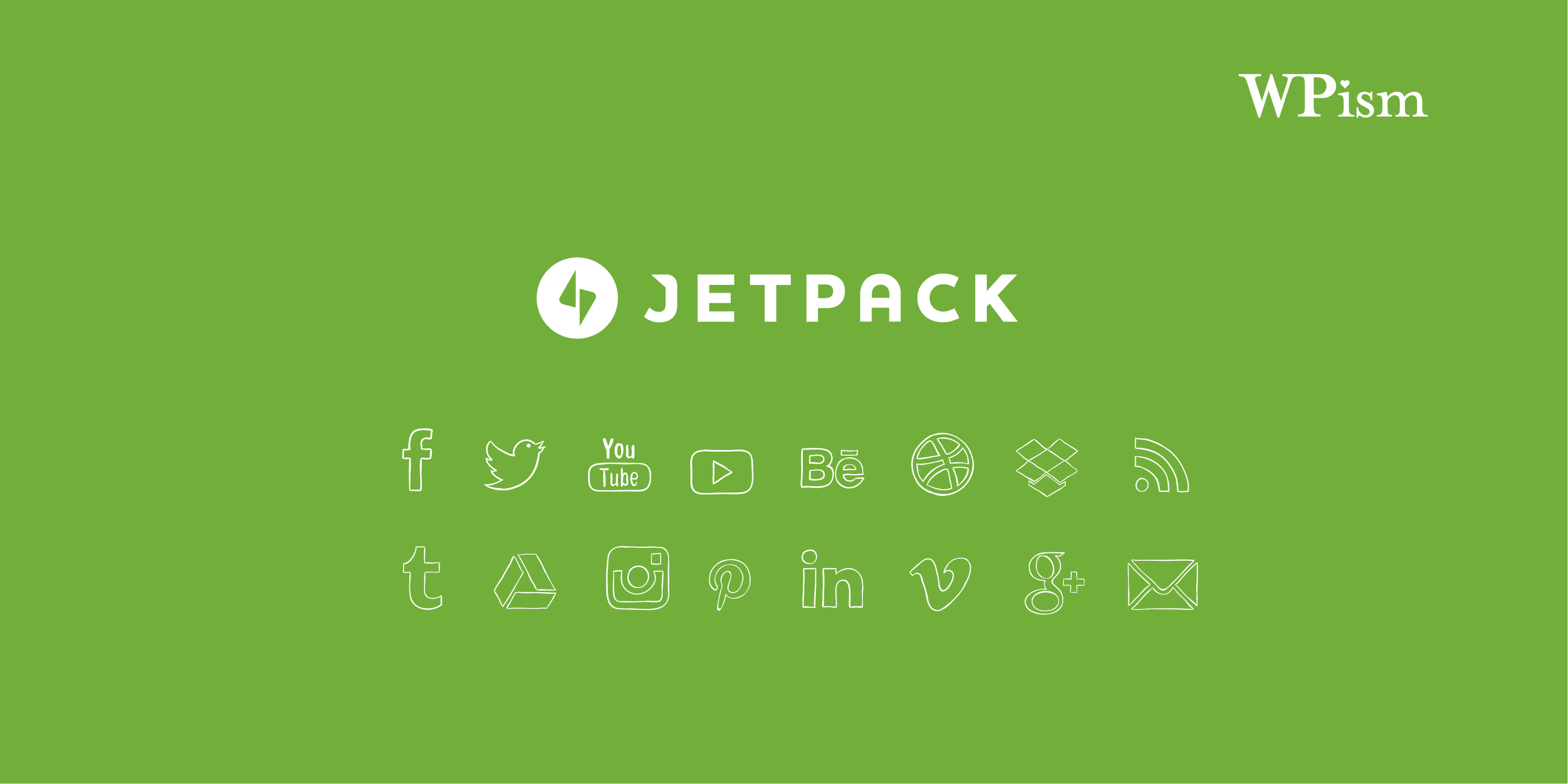 How to Add Social Media Icons Widget With Jetpack