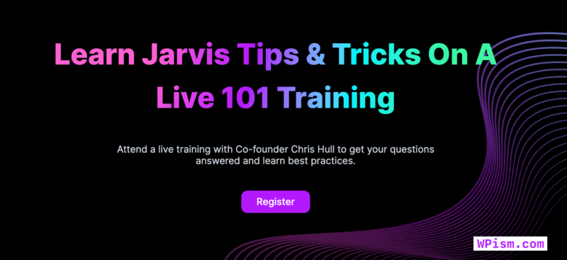Learn Jarvis AI Live Training Register