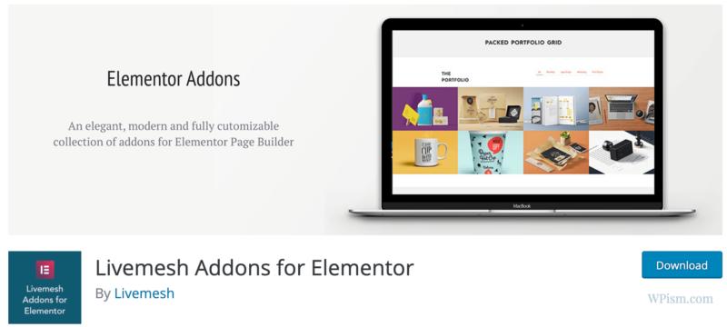 Livemesh Addons for Elementor download