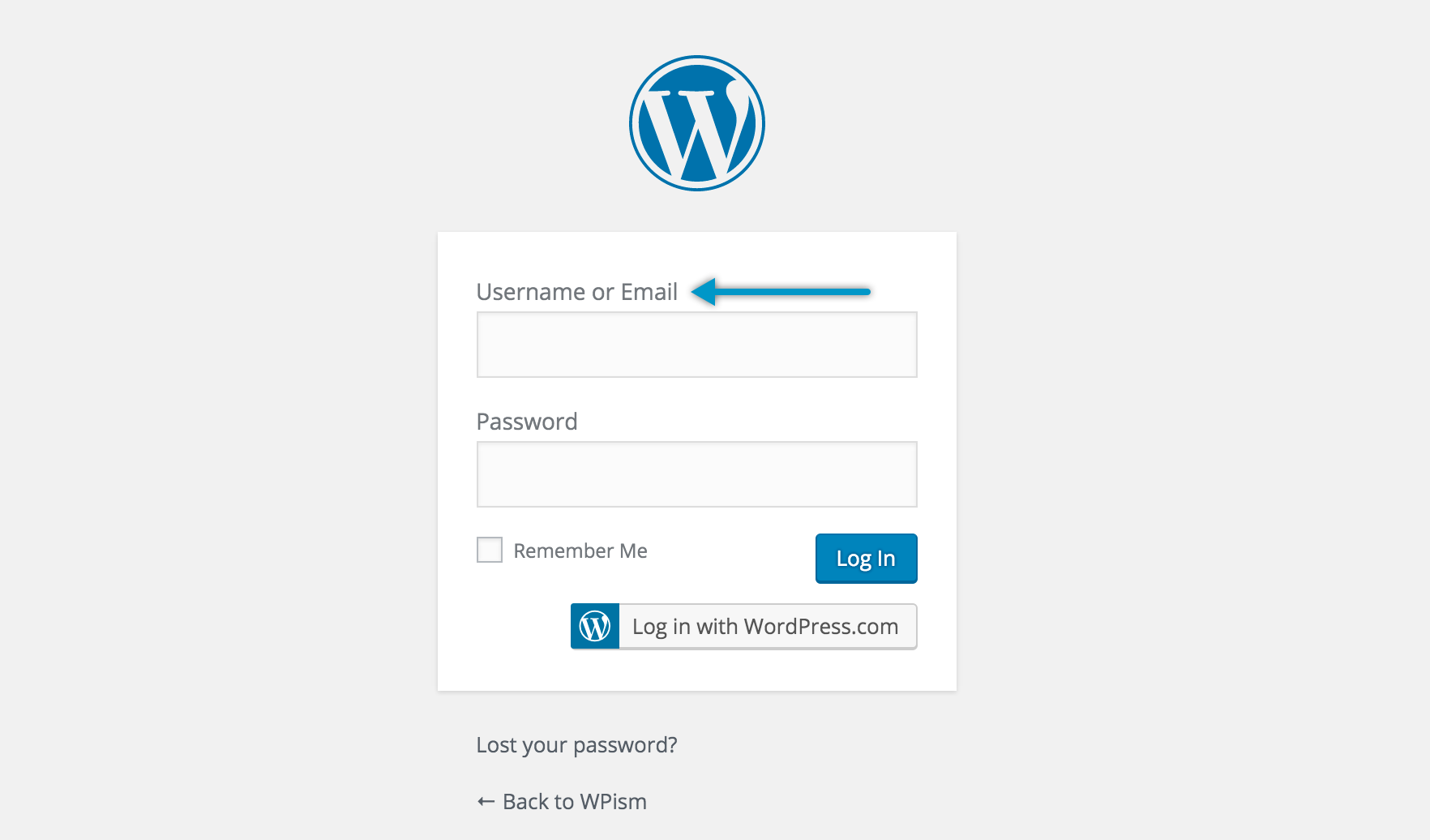 Login with Email on WordPress