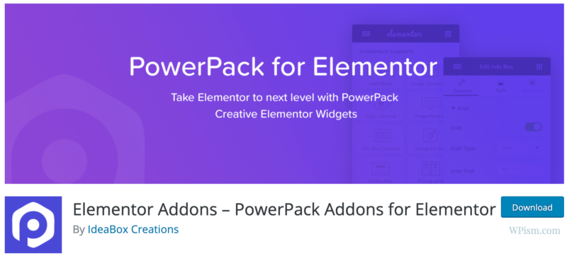 PowerPack Addons for Elementor Download