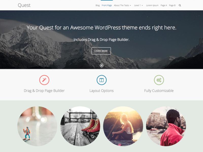 Quest WordPress Theme Latest