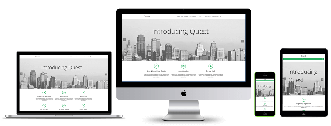 Quest WordPress Theme