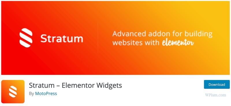 Stratum Widgets Elementor Addons