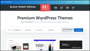 StudioPress Black Friday Sale