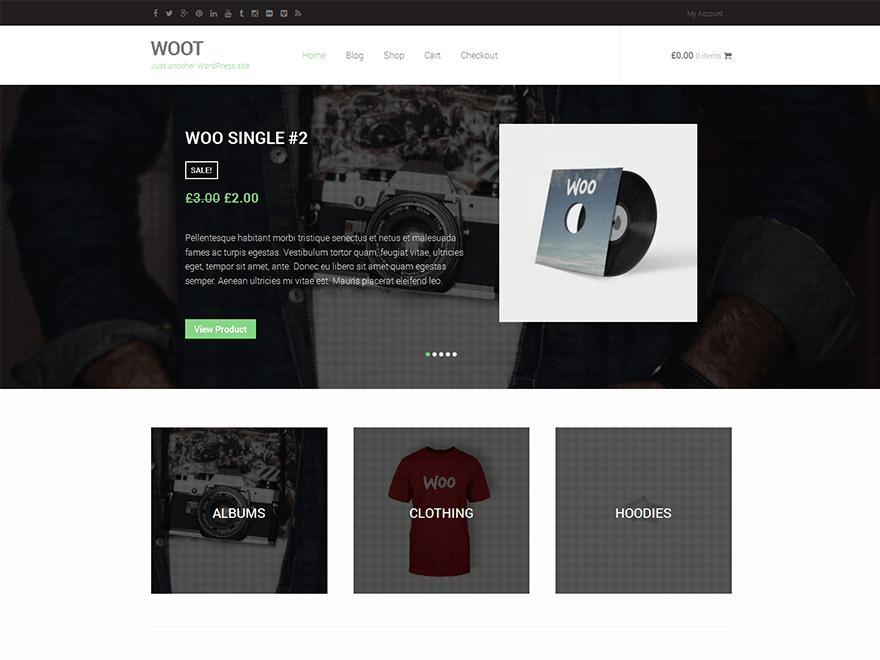 WOOT By deucethemes WordPress THeme