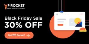 WP Rocket Black Friday Sale Deal 20 New