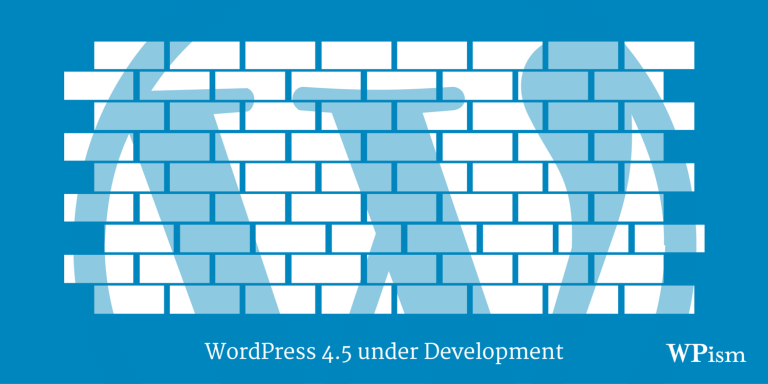 WordPress 4.5 targeted to release in April 2016