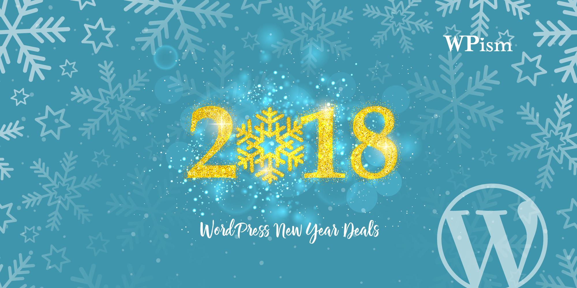 WordPress Christmas New Year Deals 2018