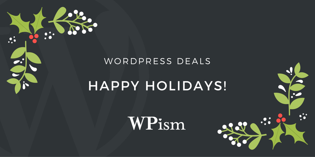Christmas and New Year WordPress Deals 2019