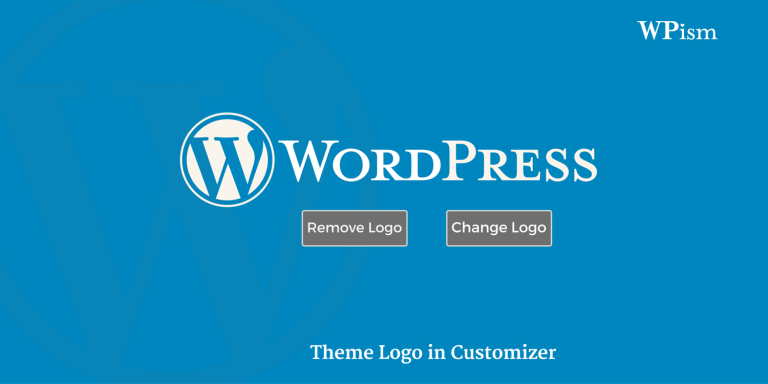 WordPress 4.5 adds native support for Theme Logo in Customizer