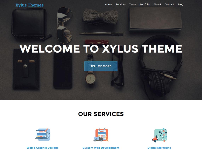 XT Corporate WordPress Theme Xylus Themes